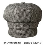 fashion hat  with  visor... | Shutterstock . vector #1089143243