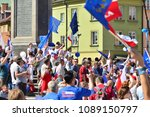 warsaw.polans. 12 may 2018....   Shutterstock . vector #1089150797