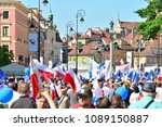 warsaw.polans. 12 may 2018....   Shutterstock . vector #1089150887