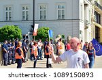 warsaw.polans. 12 may 2018....   Shutterstock . vector #1089150893