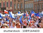 warsaw.polans. 12 may 2018....   Shutterstock . vector #1089164603