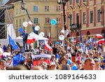 warsaw.polans. 12 may 2018....   Shutterstock . vector #1089164633