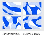 collection of abstract... | Shutterstock .eps vector #1089171527