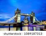 Famous Tower Bridge In The...