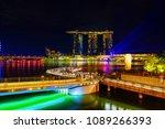 singapore city  singapore  ... | Shutterstock . vector #1089266393