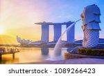 singapore city singapore  april ... | Shutterstock . vector #1089266423