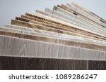 linoleum samples on white... | Shutterstock . vector #1089286247