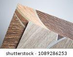 linoleum samples on white... | Shutterstock . vector #1089286253