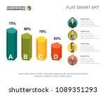 presentation slide with...   Shutterstock .eps vector #1089351293