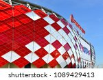 moscow  russia   may 12  2018 ... | Shutterstock . vector #1089429413