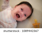 baby girl cry | Shutterstock . vector #1089442367