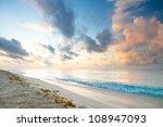 Caribbean Beach In Playacar Of...