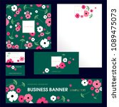set design templates....   Shutterstock .eps vector #1089475073