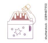 arcade machine design | Shutterstock .eps vector #1089487553