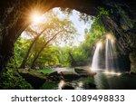 heo suwat waterfall khao yai... | Shutterstock . vector #1089498833