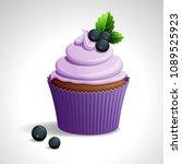 vector illustration    lilac...   Shutterstock .eps vector #1089525923