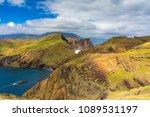 ponta de sao lourenco in... | Shutterstock . vector #1089531197