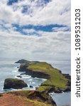 ponta de sao lourenco in... | Shutterstock . vector #1089531203