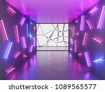 abstract contemporary art space ... | Shutterstock . vector #1089565577