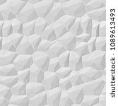 white 3d seamless stone wall | Shutterstock . vector #1089613493