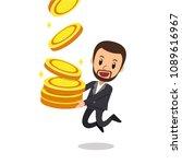 business concept vector cartoon ... | Shutterstock .eps vector #1089616967