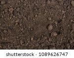 Peat Soil Texture Background....