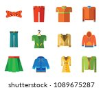 modern clothes icon set. t...   Shutterstock .eps vector #1089675287