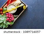 organic food concept | Shutterstock . vector #1089716057