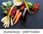 organic food concept | Shutterstock . vector #1089716063