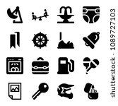 filled other icon set such as... | Shutterstock .eps vector #1089727103