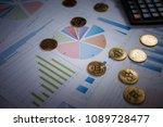 bitcoin is a modern way of... | Shutterstock . vector #1089728477