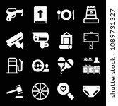 filled other icon set such as... | Shutterstock .eps vector #1089731327