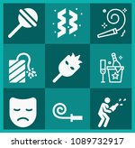 filled party icon set such as... | Shutterstock .eps vector #1089732917