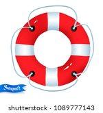 top view vector summertime... | Shutterstock .eps vector #1089777143