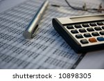 Financial tools - stock photo