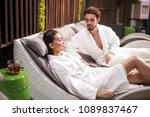 two lovers spending time in the ...   Shutterstock . vector #1089837467