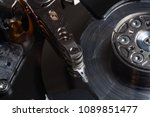 disk needle of a computer ... | Shutterstock . vector #1089851477