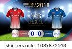 2018 world championship... | Shutterstock .eps vector #1089872543