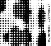 grunge halftone black and white ...   Shutterstock .eps vector #1089908117