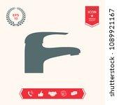 modern faucet icon   Shutterstock .eps vector #1089921167