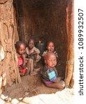 unknown masai village near... | Shutterstock . vector #1089932507