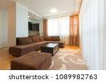 interior of a modern open plan...   Shutterstock . vector #1089982763