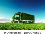 eco friendly transportation... | Shutterstock . vector #1090075583