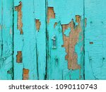 blue wood texture. old shabby... | Shutterstock . vector #1090110743