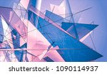 abstract background violet...   Shutterstock . vector #1090114937