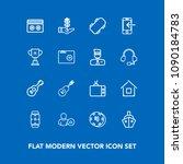 modern  simple vector icon set...   Shutterstock .eps vector #1090184783