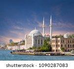 ortakoy mosque   grand imperial ... | Shutterstock . vector #1090287083