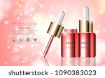 hydrating facial serum for... | Shutterstock .eps vector #1090383023