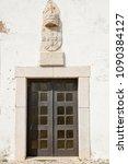lagos  portugal   circa may... | Shutterstock . vector #1090384127