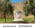lagos  portugal   circa may... | Shutterstock . vector #1090386233